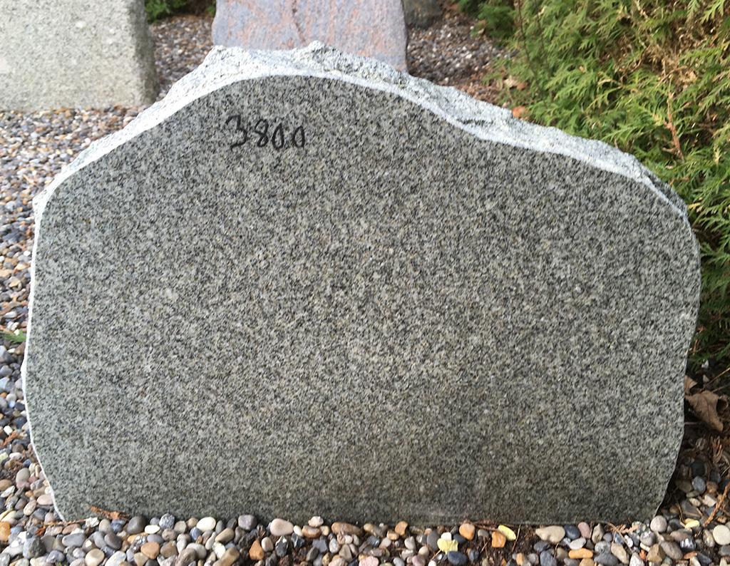 Poleret finsk granit
